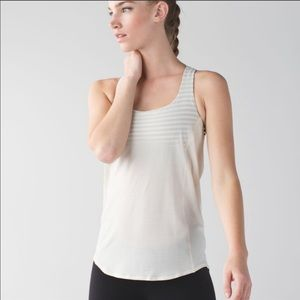 Lululemon NEW Ivory/Cream Wild Tank 8
